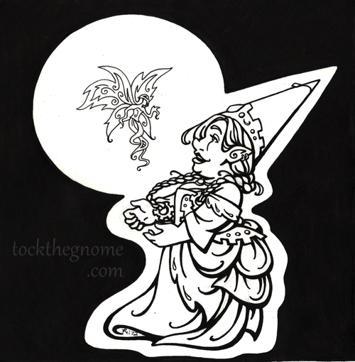 "Linework - ""Tock with Faerie"""